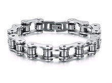 Load image into Gallery viewer, 2019 Men's Stainless Steel Motorcycle Chain Bracelet