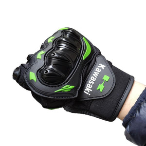 Kawasaki Riding Motorcycle Gloves Protective Motocross Motor Glove