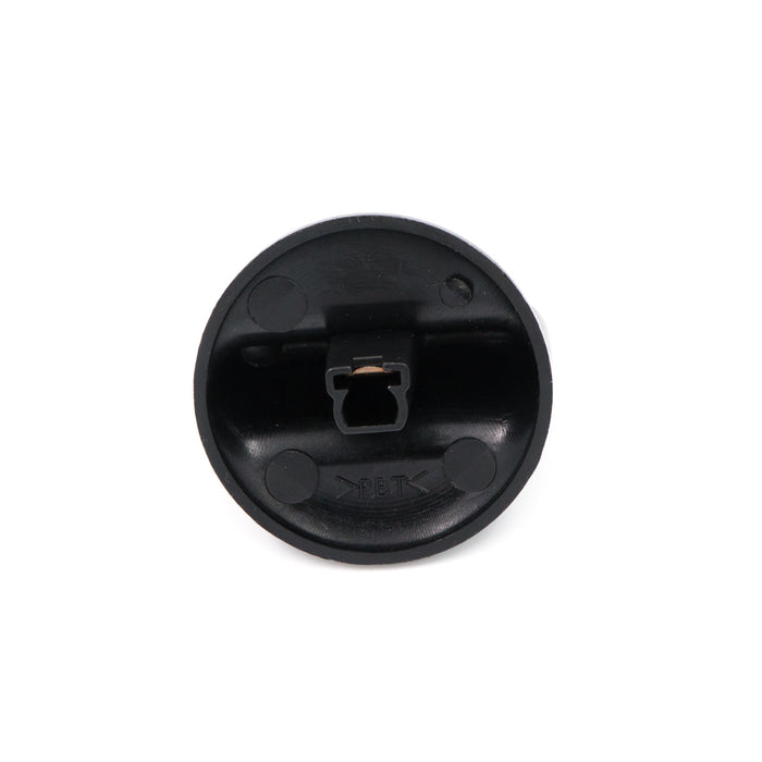 Black Cooktop Knob