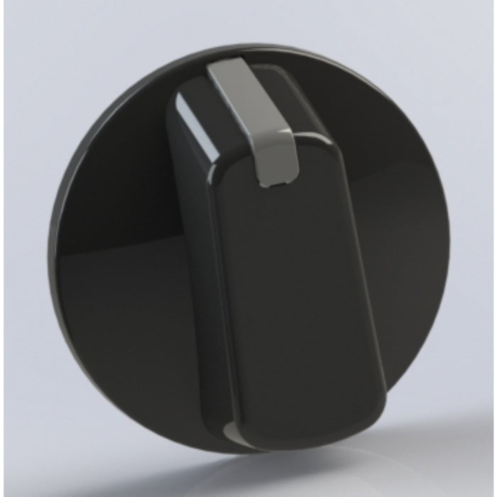 Universal Knob 55mm Black 4PKT Includes decal set