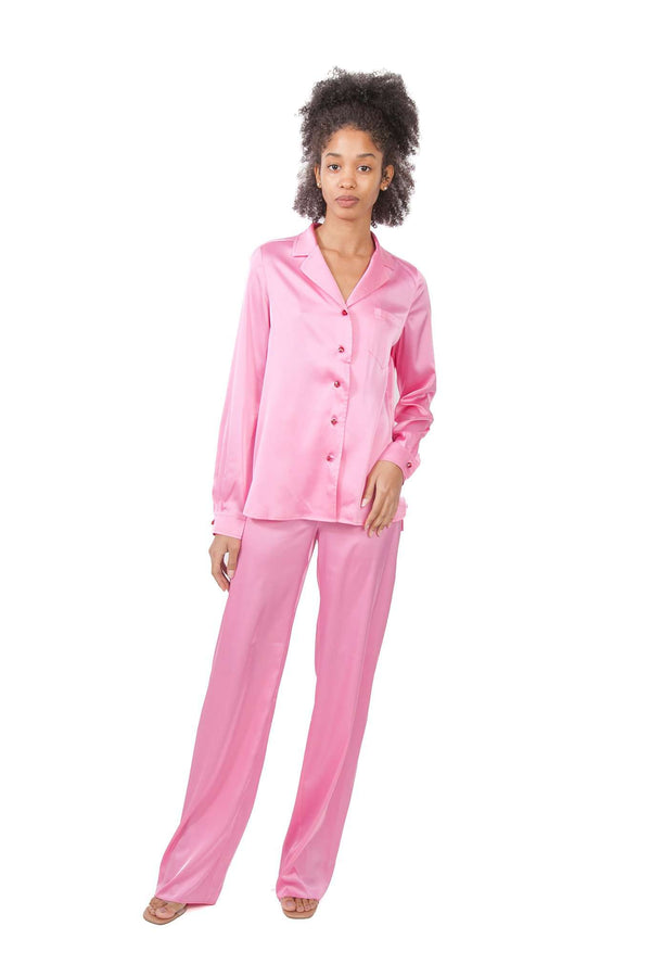 Pink Pijamas Blouse