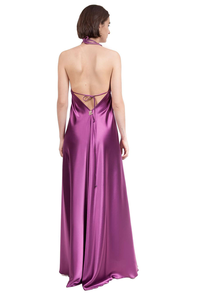 Fuchsia Cleavage Weight Down Mooring Dress