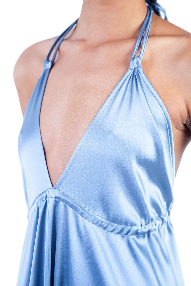 Lavender Cleavage Weight Down Mooring Dress
