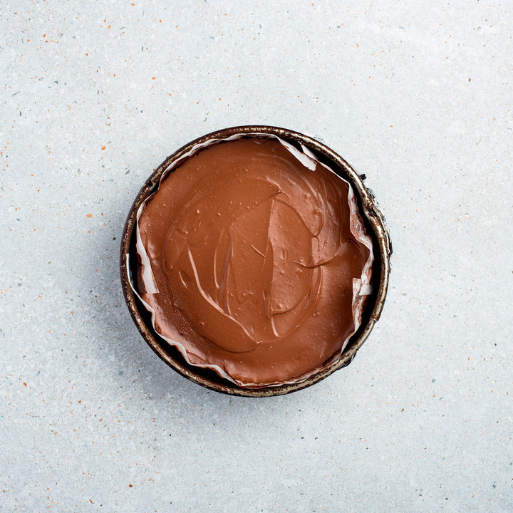 Nutella Cheesecake (Wheat Free)