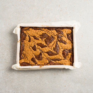 Salted Caramel & Peanut Butter Brownie