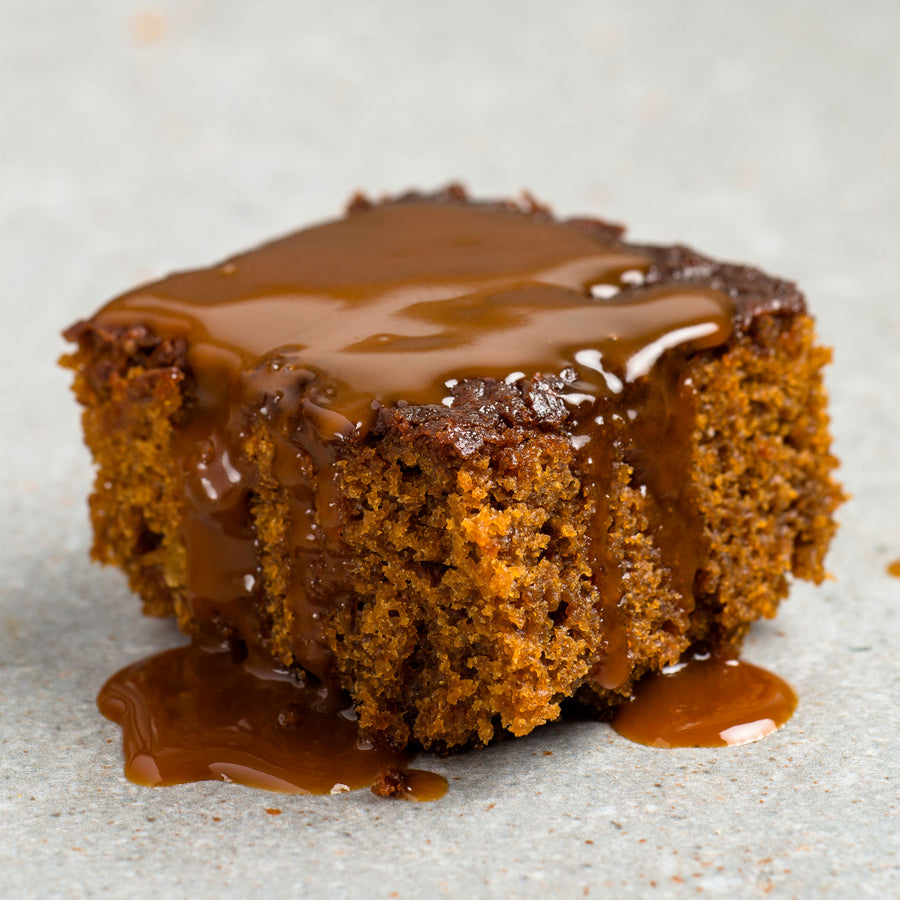 Sticky Ginger Pudding & Butterscotch Sauce