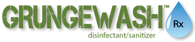 GrungeWash disinfectant/sanitizer logo