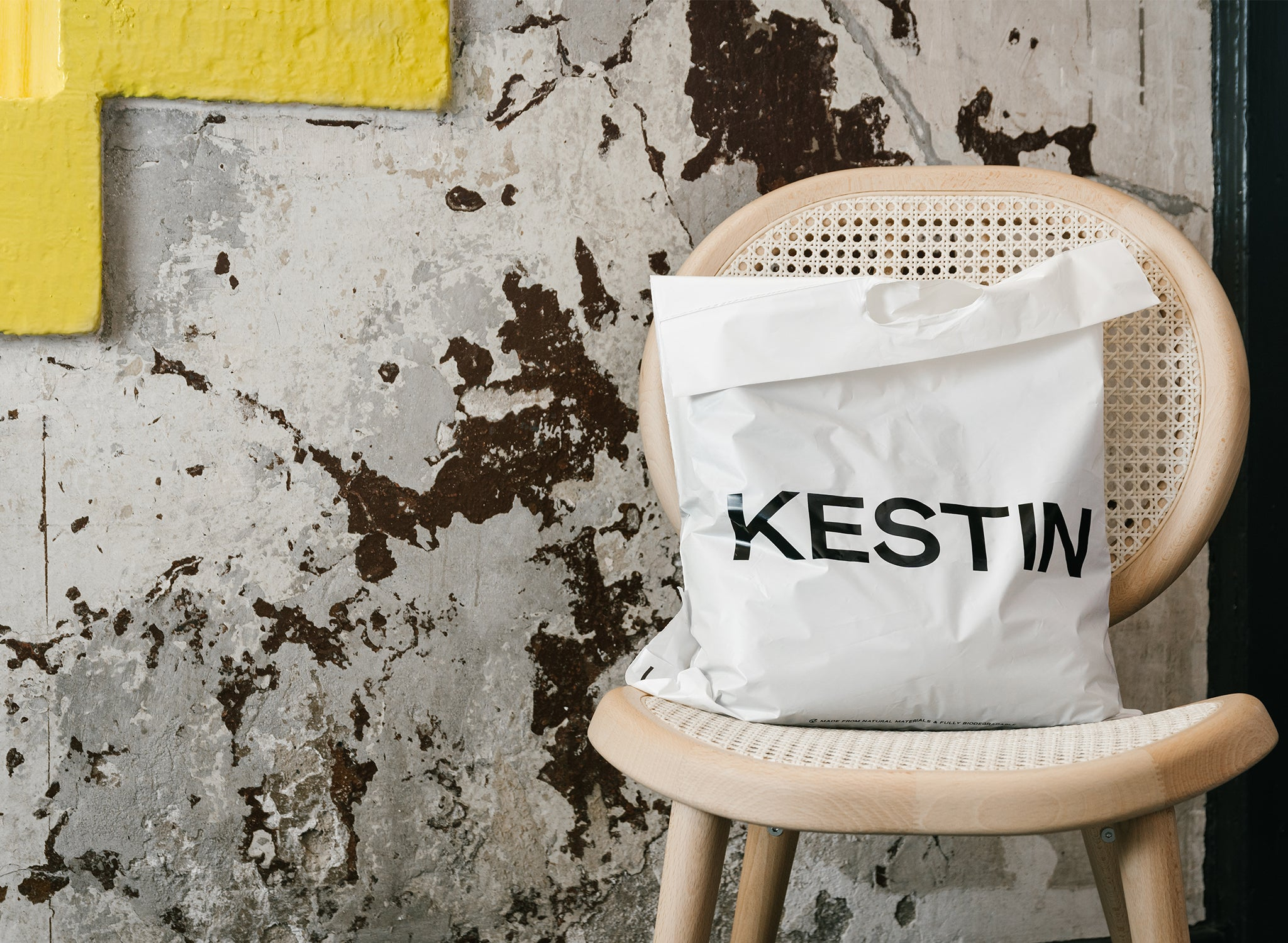 Kestin eco-friendly 100% compostable shipping bag