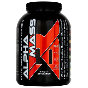 ALPHA MASS - Elite Whey Mass Gainer