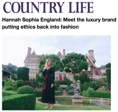 Country Life Magazine interviews Founder Hannah-Sophia