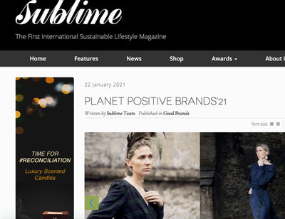 Sublimes PLANET POSITIVE BRANDS'21