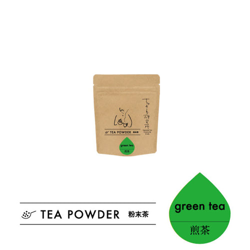 Green tea TEA POWDER 緑茶 粉末茶 40g lab.