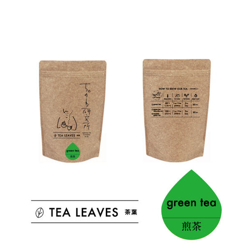 Green tea TEA LEAVES 緑茶 茶葉 70g lab.