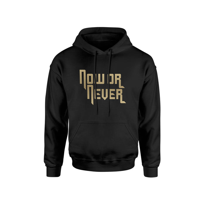 NOW OR NEVER GOLD HOODIE