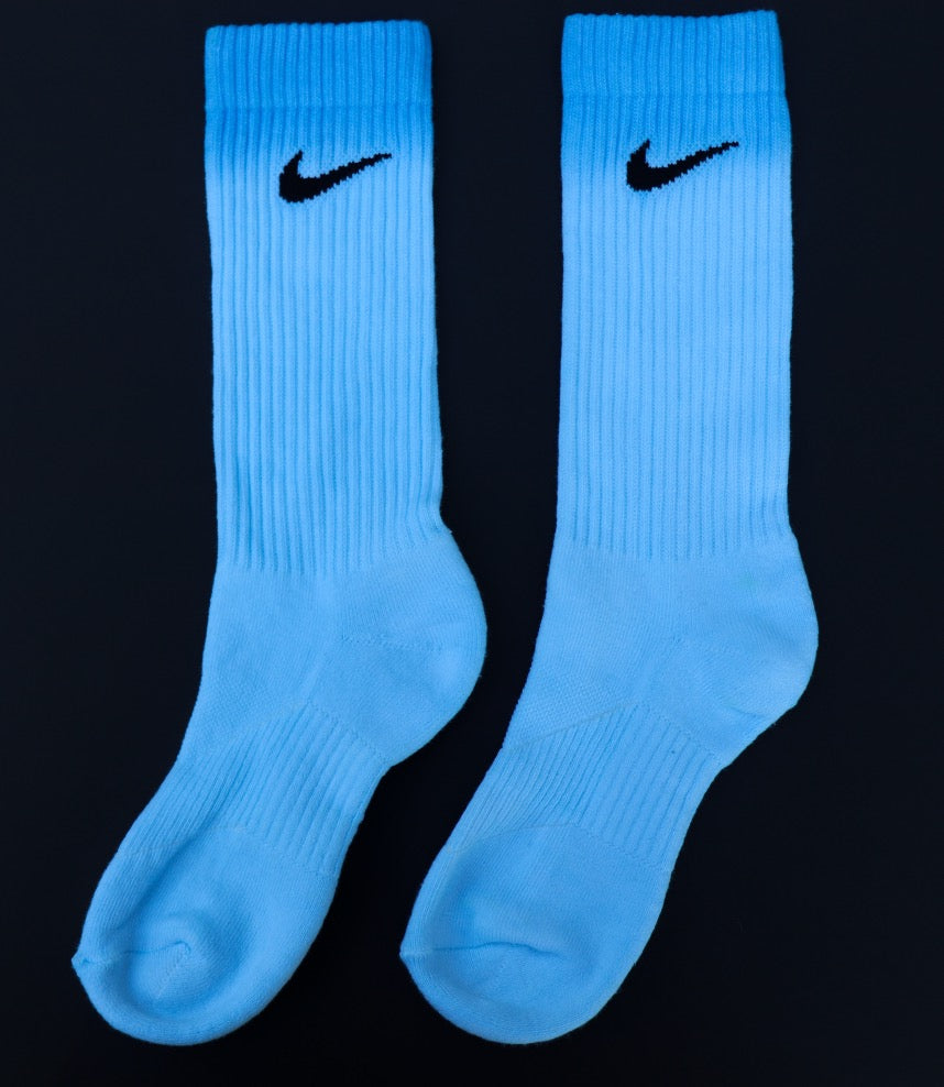 Ombré Bubblegum Branded Q-Crew Socks