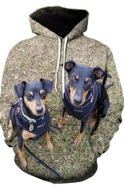 3D Graphic Hoodies Animals Dogs - Douin