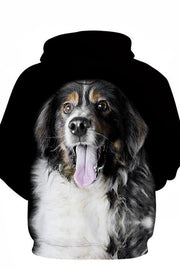 3D Graphic Hoodies Animals Dogs Australian shepherd - Douin