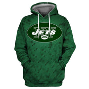 3D New York Jets Printed Hooded Pocket Pullover Sweater -01 - diNeiLa