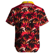 Arizona Cardinals Hawaiian Shirt Slim Fit Body - diNeiLa