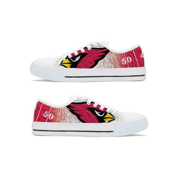 Arizona Cardinals Low Top Shoes - diNeiLa