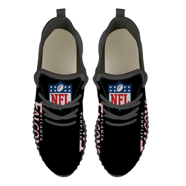 Atlanta Falcons Sneakers Big Logo Yeezy Shoes - diNeiLa