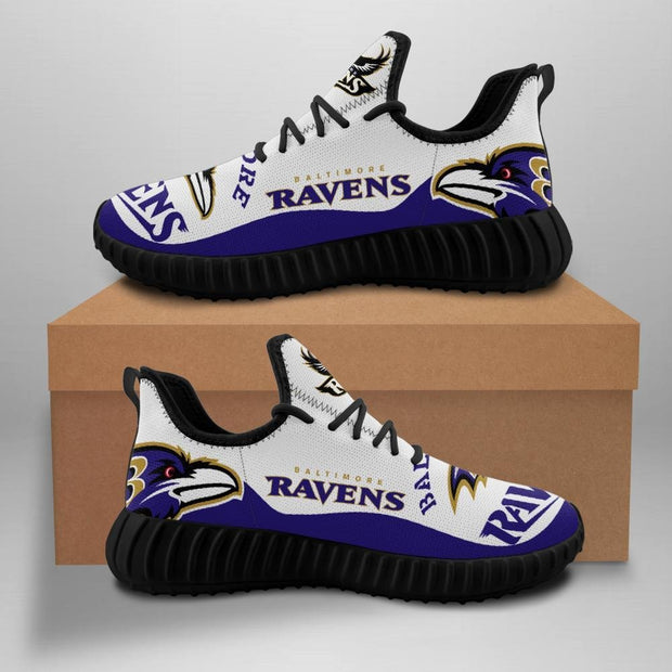 Baltimore Ravens Men's Sneakers Running Shoes For Sale - diNeiLa