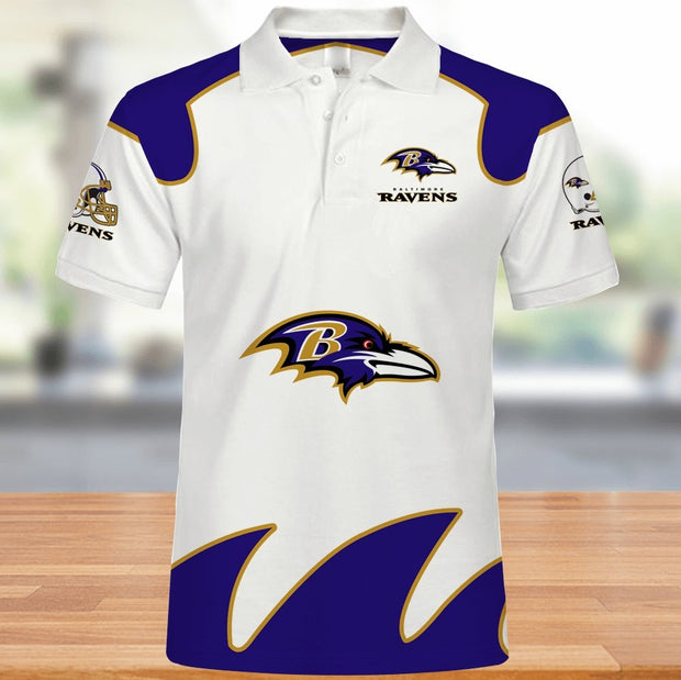 Baltimore Ravens Polo Shirt - diNeiLa