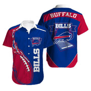 Buffalo Bills Hawaiian Shirt Slim Fit Body - diNeiLa