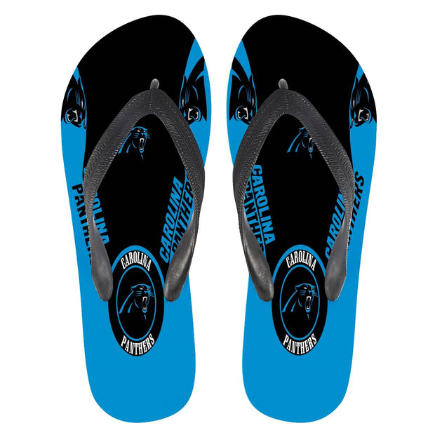 Carolina Panthers Flip Flops - diNeiLa
