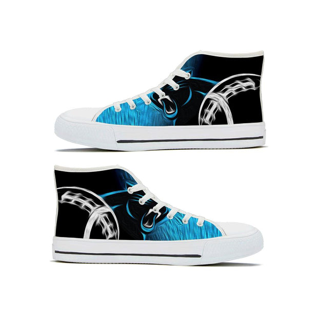 Carolina panthers High Top Shoes - diNeiLa