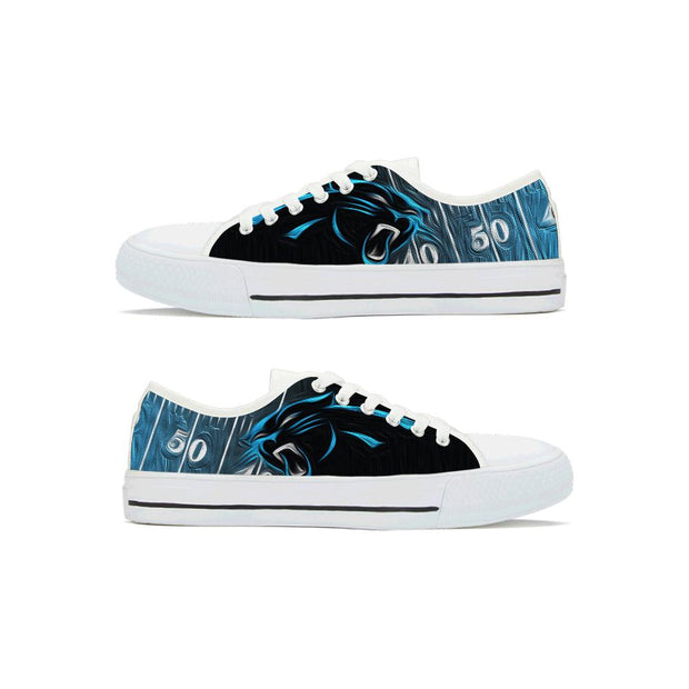 Carolina panthers Low Top Shoes For Men Women - diNeiLa