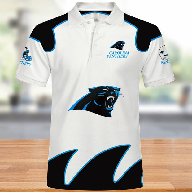 Carolina Panthers Polo Shirt - diNeiLa