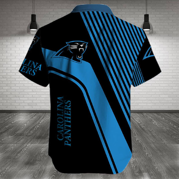 Carolina Panthers Shirt Slim Fit Body - diNeiLa