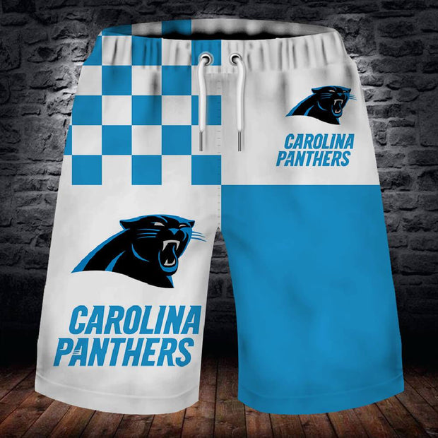 Carolina Panthers Summer Beach Shorts - diNeiLa