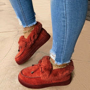 Casual Fashion Flat Boots - Douin