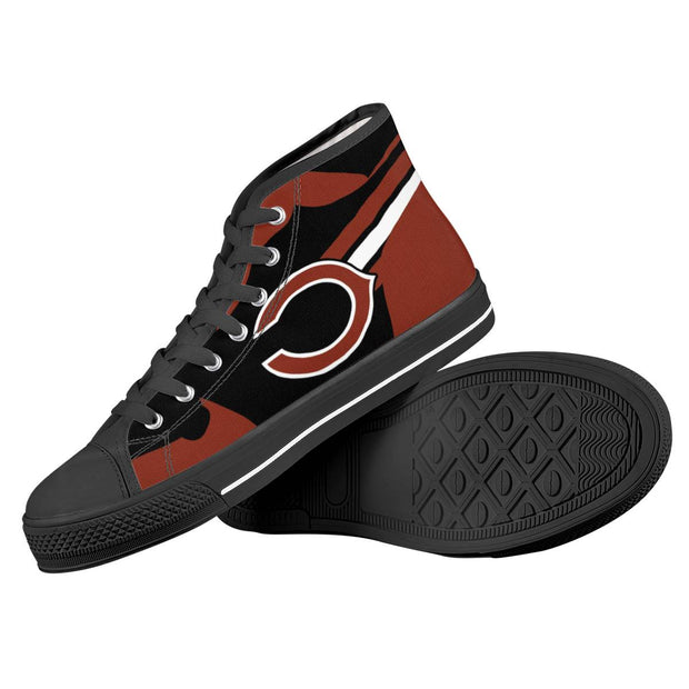 Chicago Bears High Top Shoes - diNeiLa