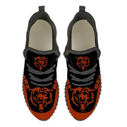 Chicago Bears Sneakers Big Logo Yeezy Shoes - diNeiLa