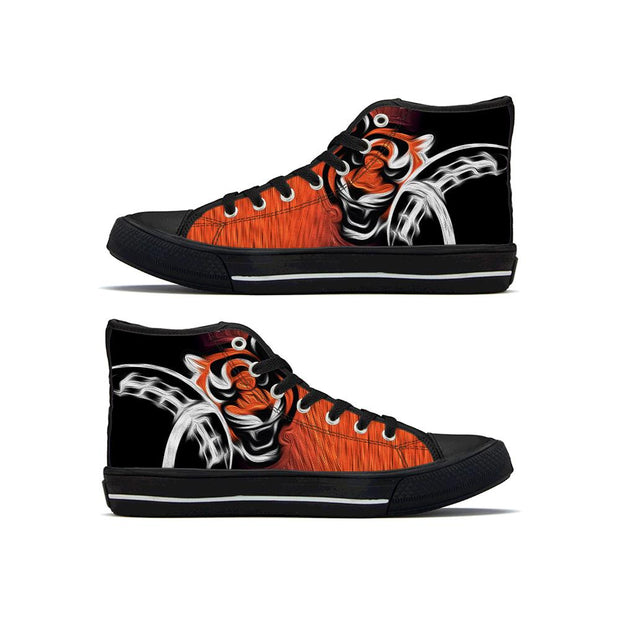 Cincinnati Bengals High Top Shoes For Men Women - diNeiLa