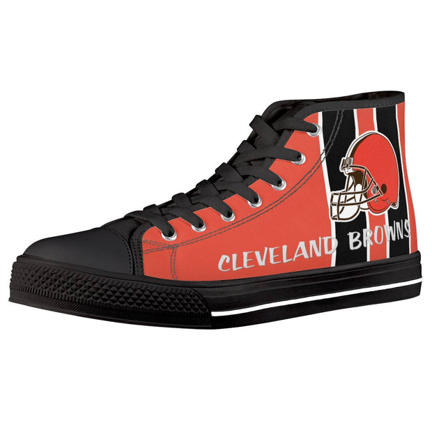 Cleveland Browns High Top Shoes - diNeiLa