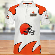 Cleveland Browns Polo Shirt - diNeiLa