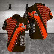 Cleveland Browns Shirt Slim Fit Body - diNeiLa