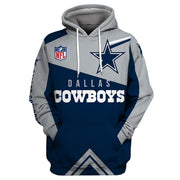 Dallas Cowboys 3D Printed Hooded Pocket Pullover Hoodie-02 - diNeiLa