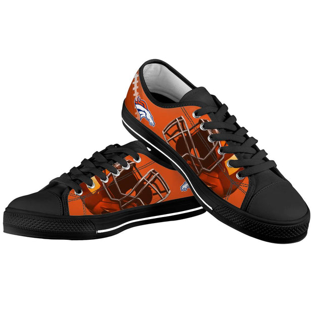 Denver Broncos Low Top Shoes - diNeiLa