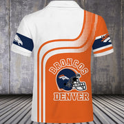 Denver Broncos Polo Shirt - diNeiLa