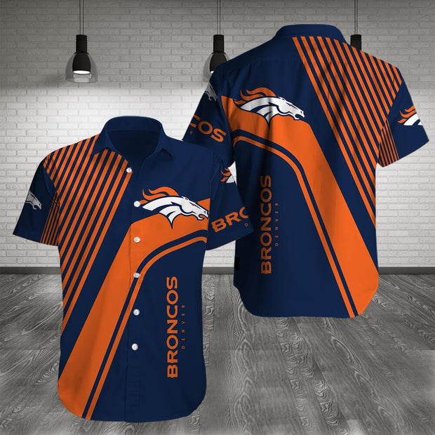 Denver Broncos Shirt Slim Fit Body - diNeiLa