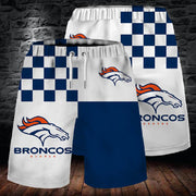 Denver Broncos Summer Beach Shorts - diNeiLa