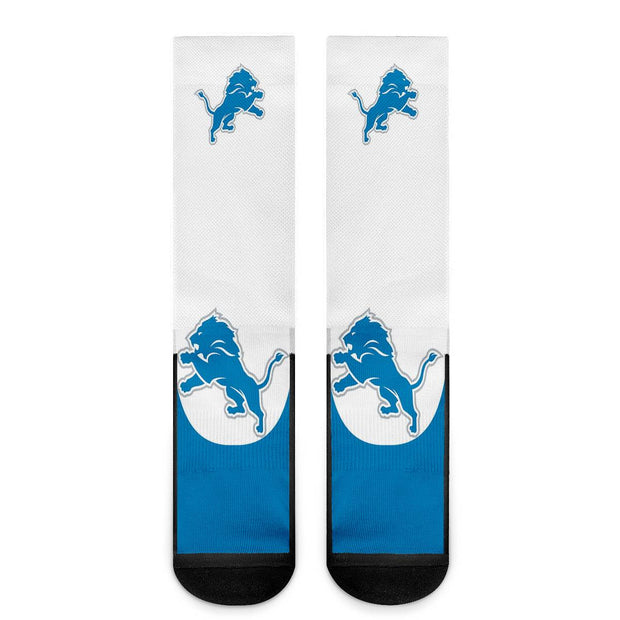 Detroit Lions For Bare Feet Crew Socks - diNeiLa