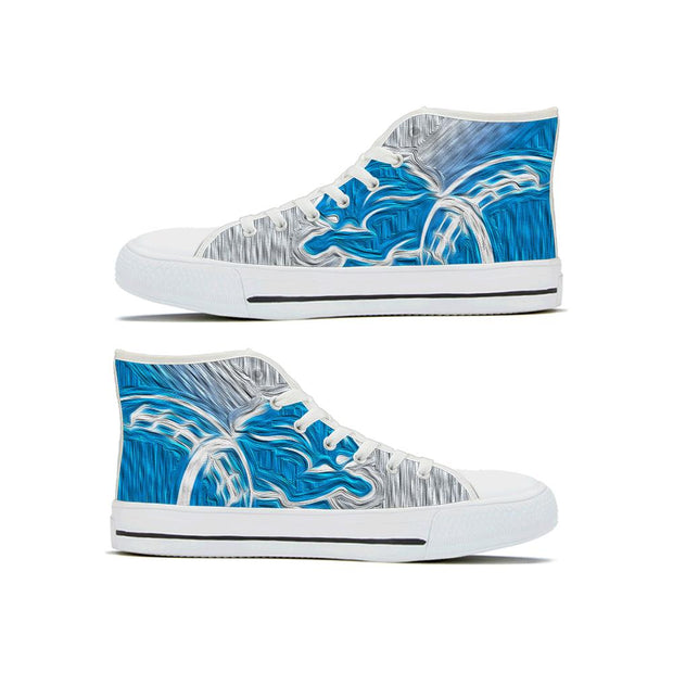 Detroit Lions High Top Shoes - diNeiLa