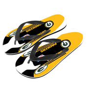 Green Bay Packers Flip Flops - diNeiLa