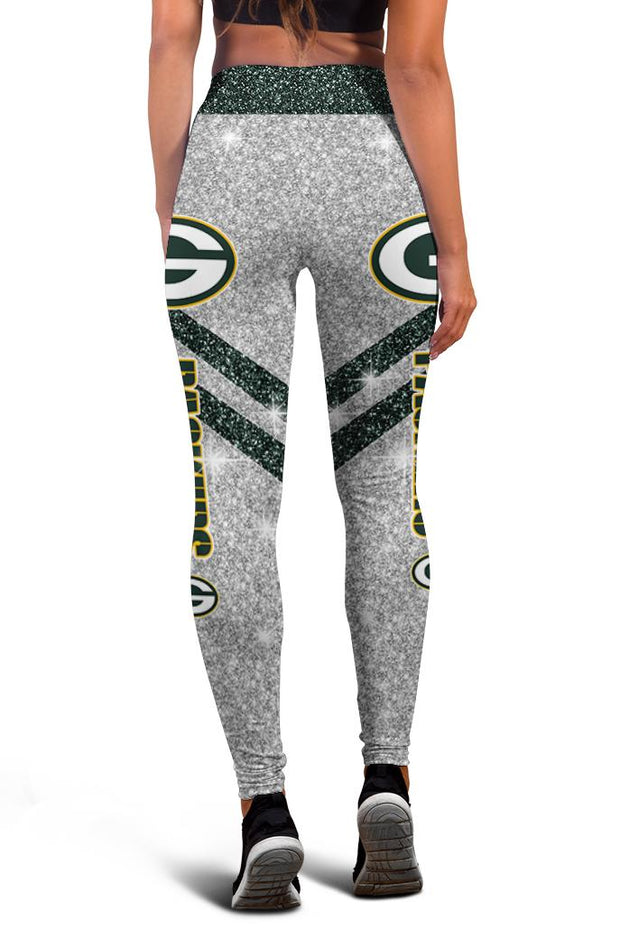 Green Bay Packers Limited Edition 3D Printed Leggings - Douin